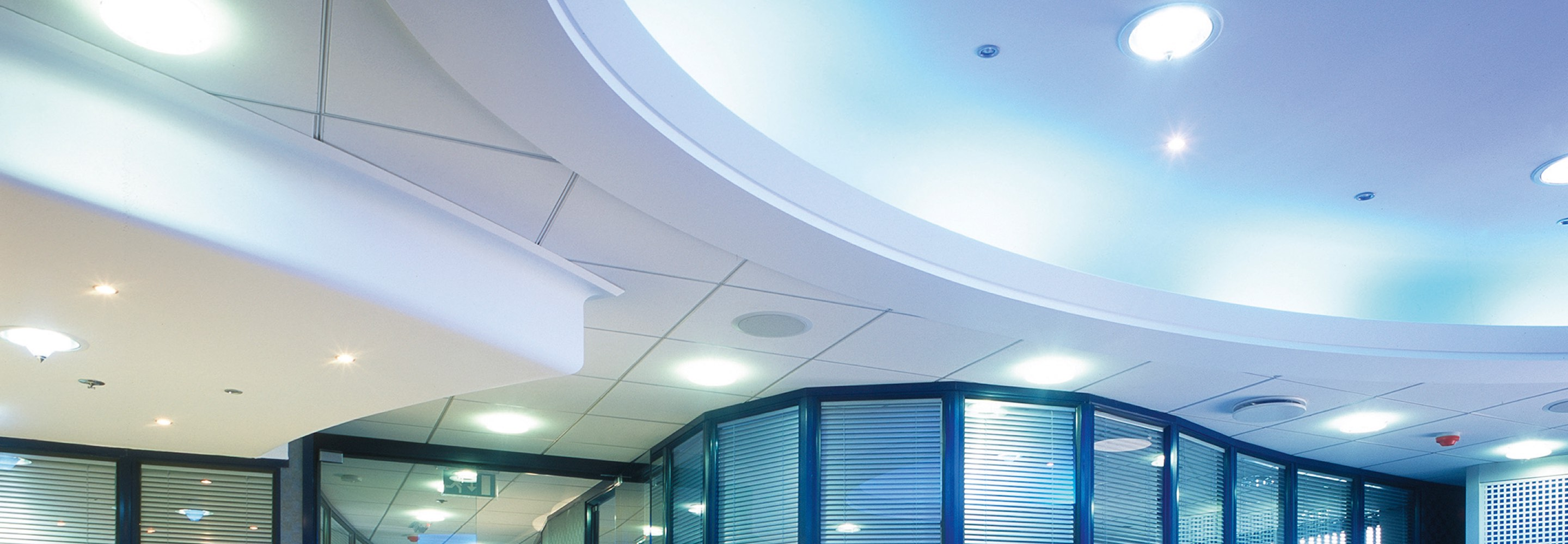 Corporate Interiors commercial ceilings design and installation
