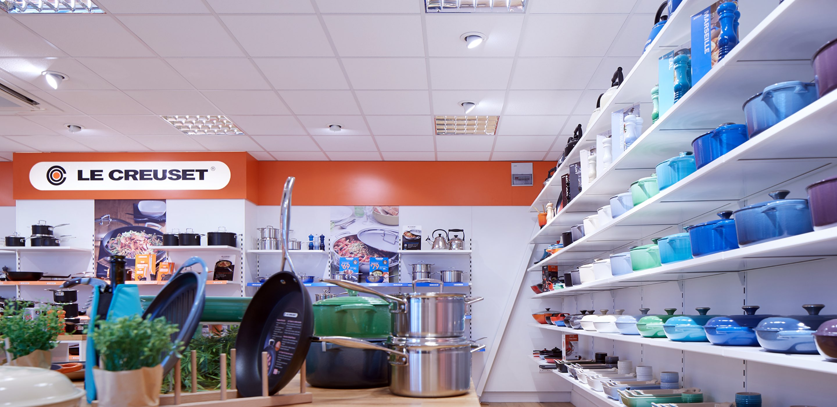 Corporate Interiors office design and fit out for Le Creuset Basingstoke - sample room