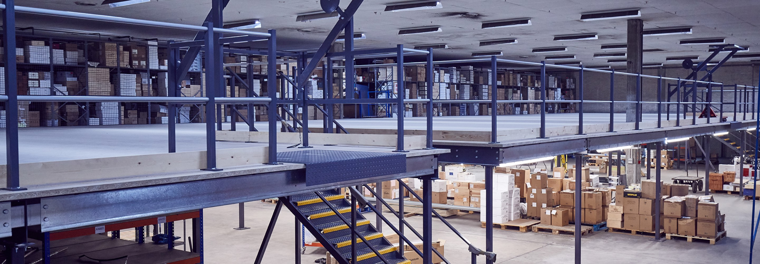 Corporate Interiors warehouse storage design and build